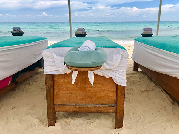 Visit a SPA on a rainy day in Playa del Carmen