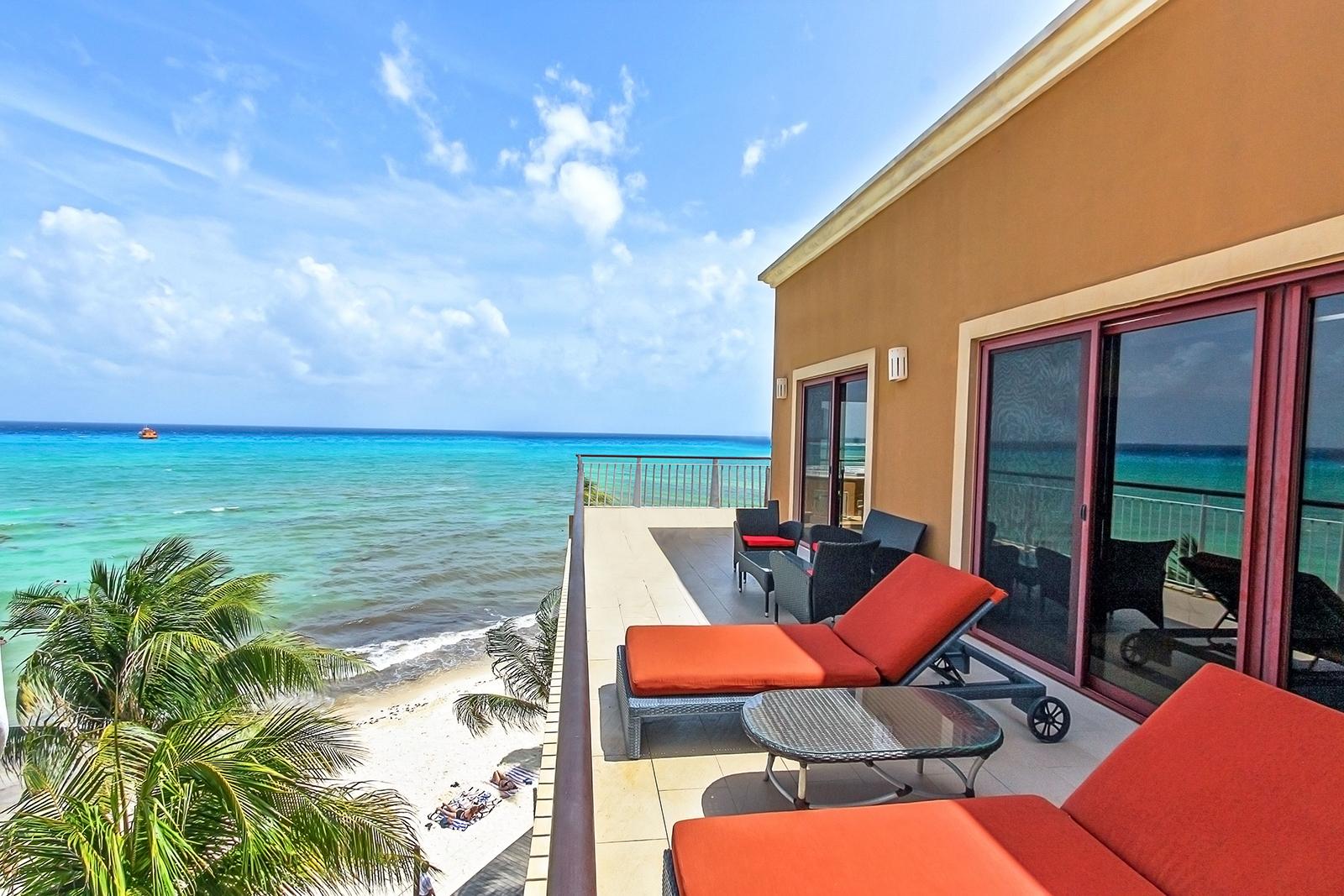 Penthouse El Faro Surf 408 Playa del Carmen Condo Home For Sale Real Estate to Buy