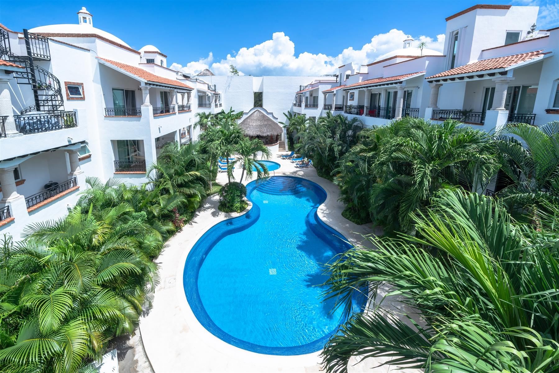 Gaviotas 2 Penthouse Playa del Carmen Condo Home For Sale Real Estate to Buy