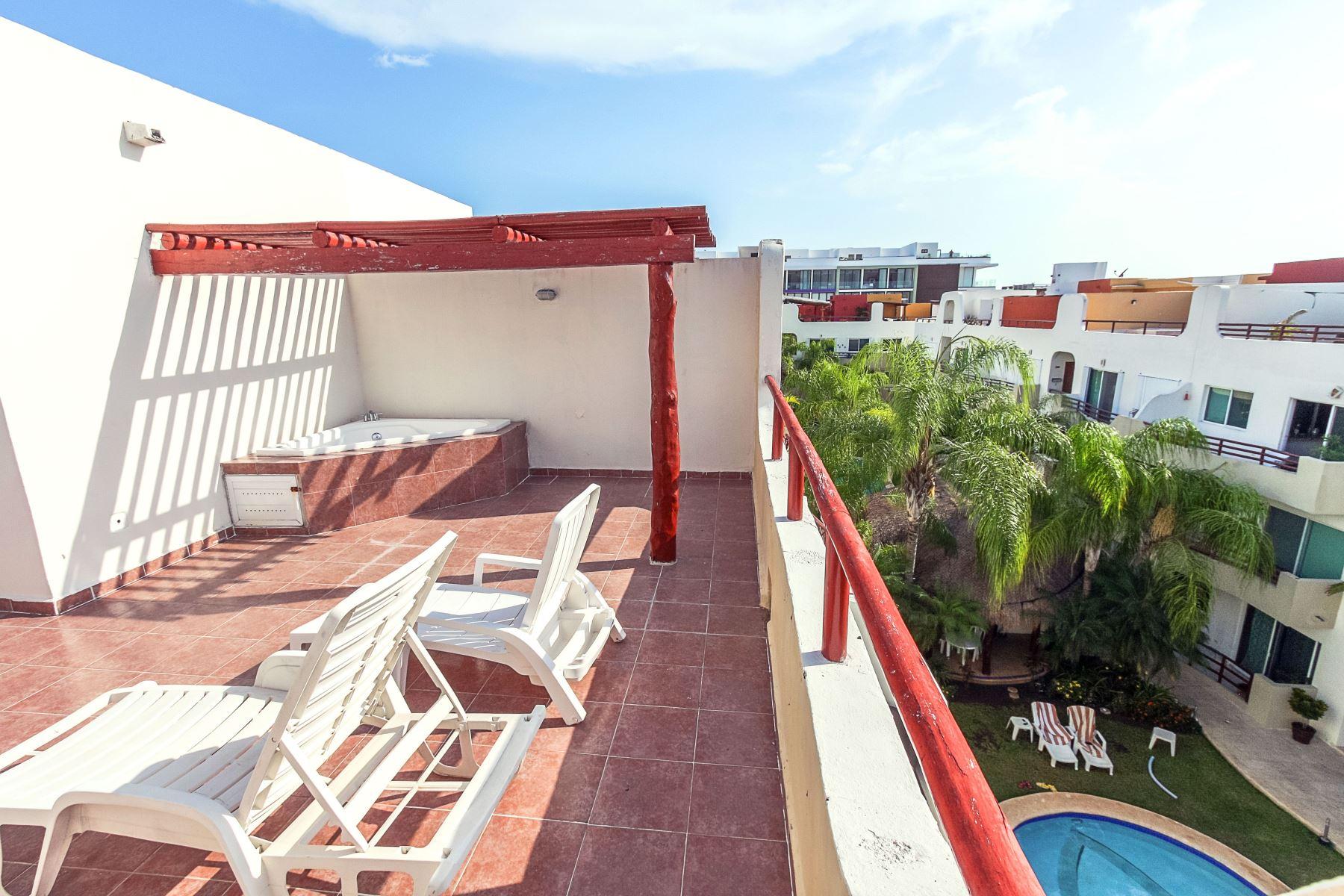 Margaritas 2 Playa del Carmen Penthouse Home For Sale Real Estate to Buy