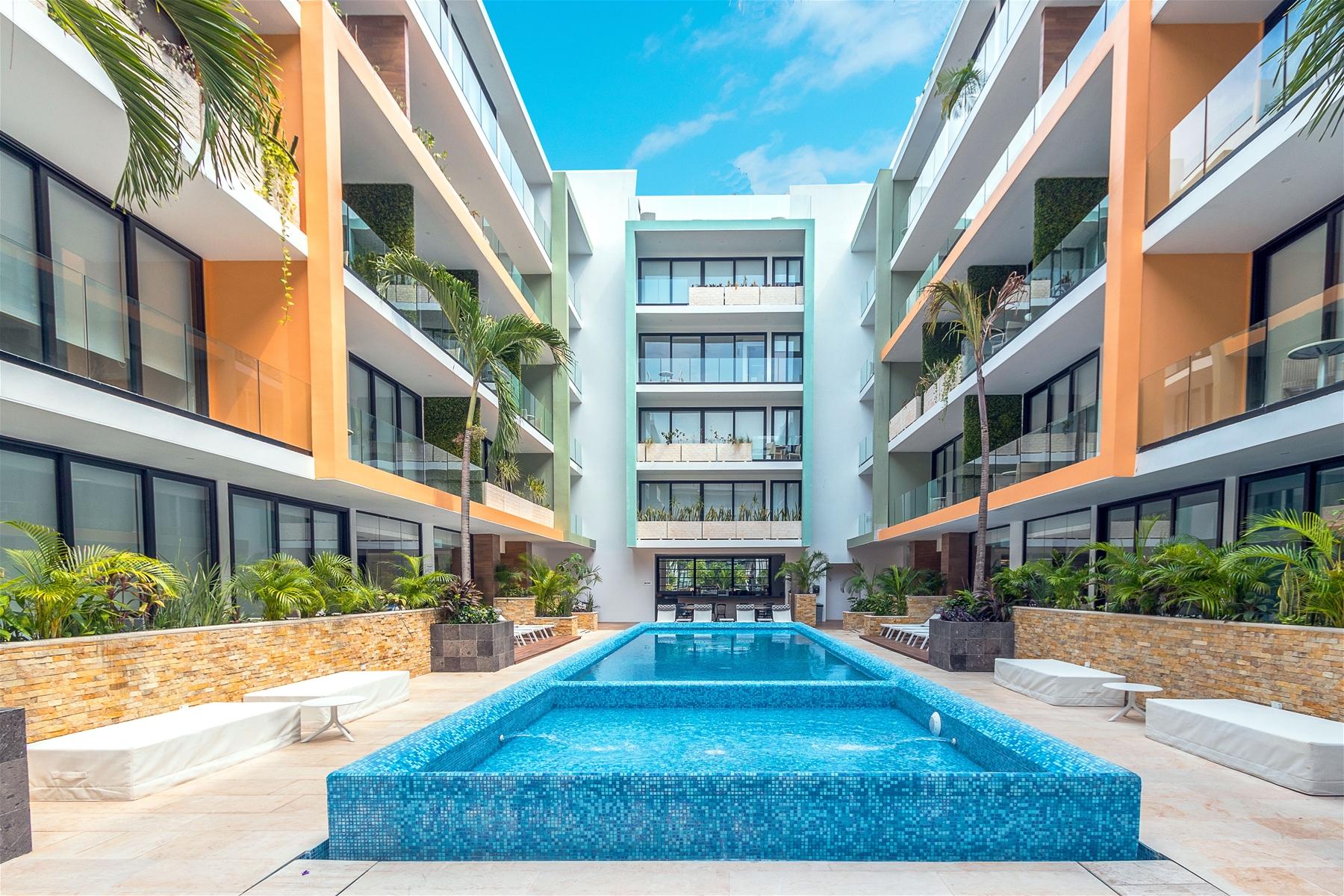Menesse the City Condo Playa del Carmen Condo Home For Sale Real Estate to Buy
