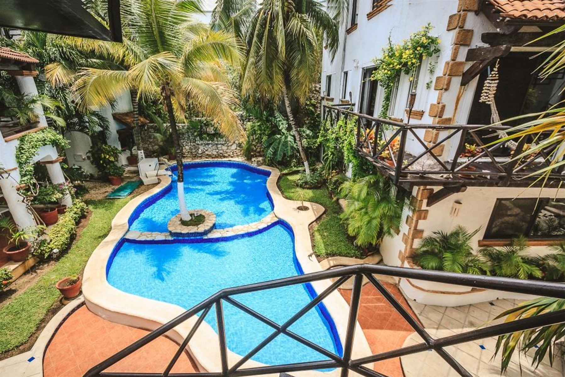Hacienda San Jose Playa del Carmen Penthouse Home For Sale Real Estate to Buy