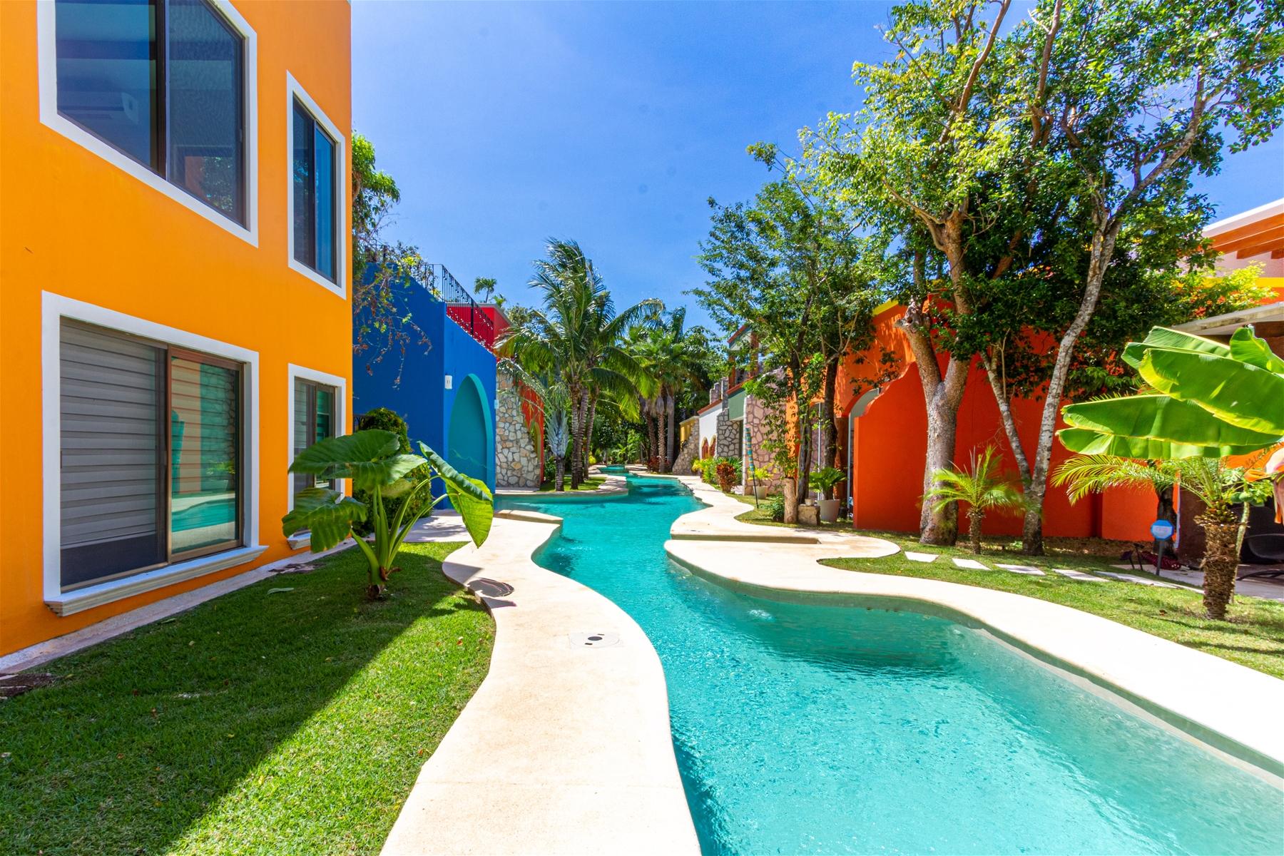 Hacienda del Rio 13 El Cielo Playa del Carmen Home for ...