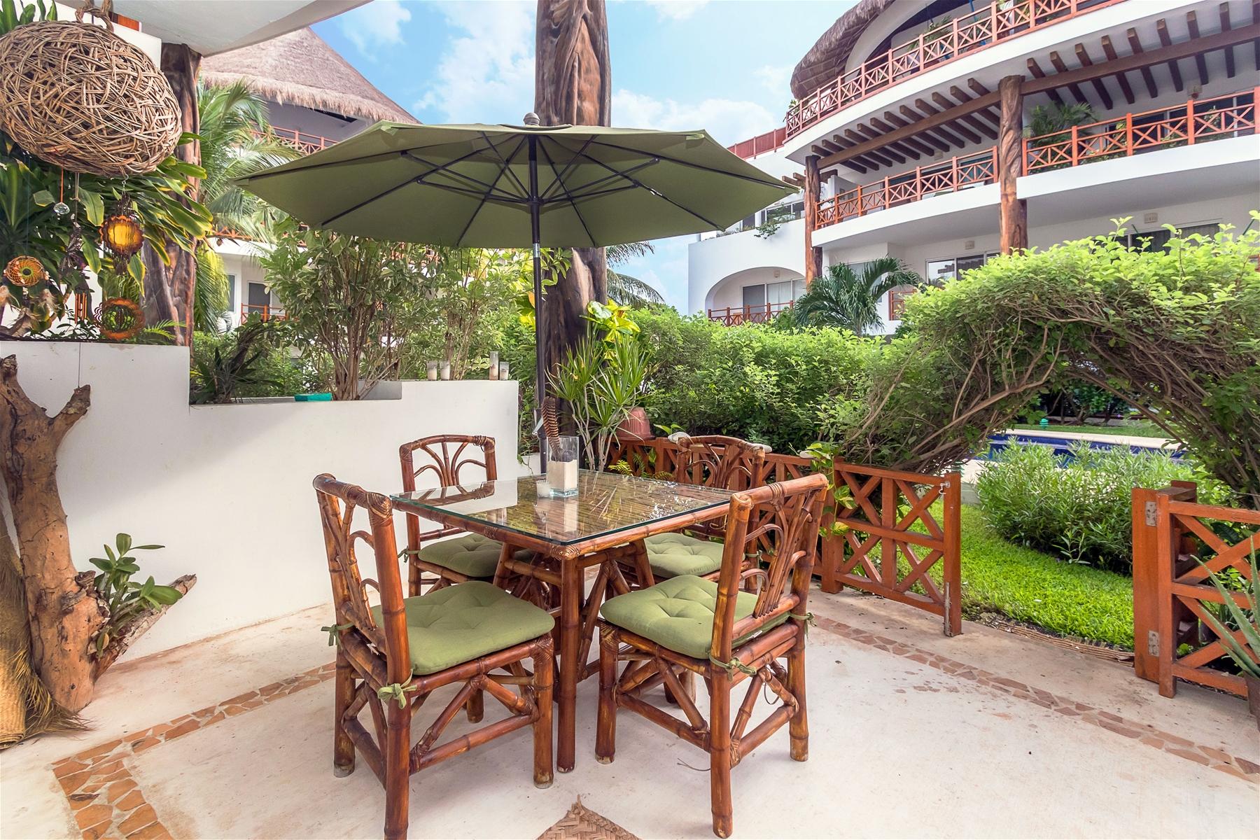 Quadra Alea Xaman 102 Playa del Carmen Condo Home For Sale Real Estate to Buy